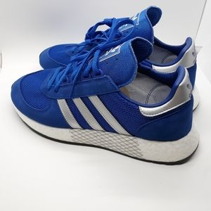 NEW Mens Adidas MarathonX5923 Blue Boost Shoes